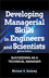 Developing Managerial Skills in Engineers and Scientists: Succeeding as a Technical Manager, 2nd Edition (0471286346) cover image