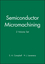 Semiconductor Micromachining, 2 Volume Set (0471980846) cover image