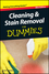 Cleaning and Stain Removal For Dummies, Mini Edition (1118042646) cover image