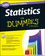 Statistics: 1,001 Practice Problems For Dummies (+ Free Online Practice) (1118776046) cover image