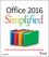 Office 2016 Simplified (1119074746) cover image