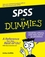 SPSS For Dummies (0470113448) cover image