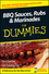 BBQ Sauces, Rubs and Marinades For Dummies (0470199148) cover image