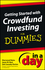 Getting Started with Crowdfund Investing In a Day For Dummies (1118502248) cover image
