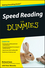 Speed Reading For Dummies (0470457449) cover image