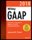 Wiley GAAP 2018: Interpretation and Application of Generally Accepted Accounting Principles (1119396549) cover image