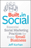 Built-In Social: Essential Social Marketing Practices for Every Small Business (111852974X) cover image