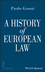 A History of European Law (140515294X) cover image