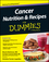 Cancer Nutrition and Recipes For Dummies (1118592050) cover image