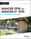 AutoCAD 2016 and AutoCAD LT 2016 No Experience Required: Autodesk Official Press (1119059550) cover image