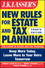 JK Lasser's New Rules for Estate and Tax Planning, 4th Edition (1118113551) cover image