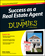 Success as a Real Estate Agent For Dummies, 2nd Edition (1118721551) cover image