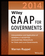 Wiley GAAP for Governments 2014: Interpretation and Application of Generally Accepted Accounting Principles for State and Local Governments (1118733851) cover image