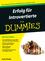 Erfolg für Introvertierte für Dummies (3527685251) cover image