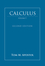 Calculus, Volume 1, One-Variable Calculus with an Introduction to Linear Algebra , 2nd Edition (EHEP001951) cover image