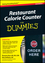 Restaurant Calorie Counter For Dummies, 2nd Edition (0470644052) cover image