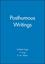 Posthumous Writings (0631128352) cover image