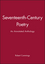 Seventeenth-Century Poetry: An Annotated Anthology (0631210652) cover image