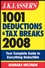 J.K. Lasser's 1001 Deductions and Tax Breaks 2008: Your Complete Guide to Everything Deductible (0470231653) cover image