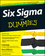 Six Sigma For Dummies, 2nd Edition (1118120353) cover image