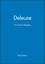 Deleuze: A Critical Reader (1557865655) cover image