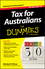 Tax for Australians For Dummies, 2015-16 Edition (0730324656) cover image