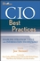 CIO Best Practices: Enabling Strategic Value with Information Technology (0470893257) cover image