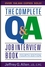 The Complete Q&A Job Interview Book, 4th Edition (0471651257) cover image