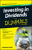 Investing In Dividends For Dummies (1119121957) cover image