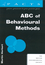 ABC of Behavioural Methods (1854331957) cover image
