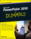 PowerPoint 2010 For Dummies (0470487658) cover image