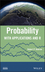 Probability: With Applications and R (1118241258) cover image