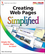 Creating Web Pages Simplified (0470526459) cover image