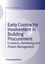 Early Contractor Involvement in Building Procurement: Contracts, Partnering and Project Management (1405196459) cover image