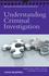 Understanding Criminal Investigation (047072725X) cover image