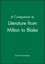 A Companion to Literature from Milton to Blake (063121285X) cover image