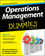 Operations Management For Dummies (1118551060) cover image