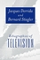 Echographies of Television: Filmed Interviews (0745620361) cover image