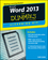 Word 2013 eLearning Kit For Dummies (1118491262) cover image