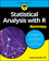 Statistical Analysis with R For Dummies (1119337062) cover image