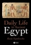 Daily Life in Ancient Egypt (1405118563) cover image