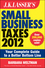 J.K. Lasser's Small Business Taxes 2012: Your Complete Guide to a Better Bottom Line (1118176464) cover image