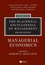 The Blackwell Encyclopedia of Management, Volume 8, Managerial Economics, 2nd Edition (1405100664) cover image