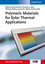 Polymeric Materials for Solar Thermal Applications (3527332464) cover image