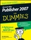 Microsoft Office Publisher 2007 For Dummies (0470184965) cover image