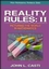 Reality Rules, Picturing the World in Mathematics, Volume 2, The Frontier (0471184365) cover image