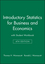 Introductory Statistics for Business and Economics with Student Workbook 4e (0471527165) cover image