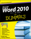 Word 2010 All-in-One For Dummies (0470487666) cover image