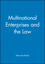 Multinational Enterprises and the Law (0631216766) cover image