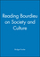 Reading Bourdieu on Society and Culture (0631221867) cover image